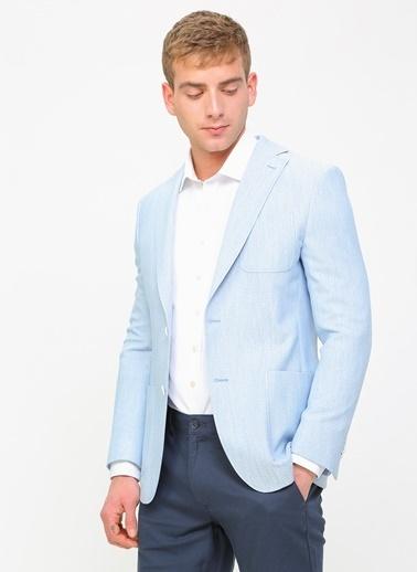 Kip Ceket Mavi